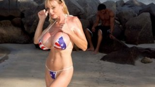 Patriotic Pud-Drainer - Tits And Tugs