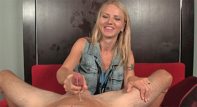 Alina Long: Cock Milking Nymphomaniac - Over 40 Handjobs