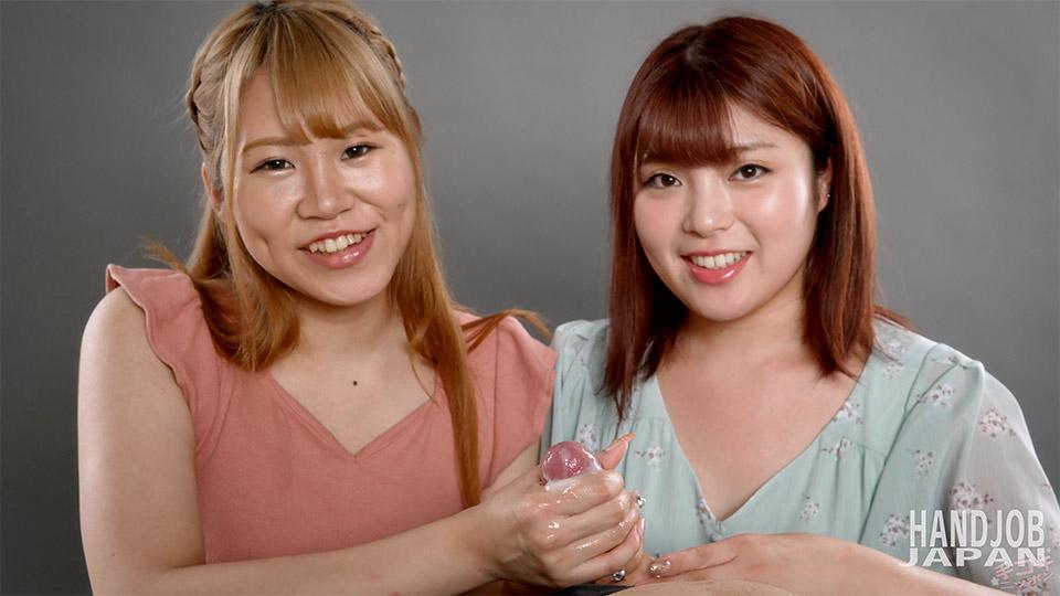 [2021-06-27] Amane & Yuu's double handjob - Handjob Japan