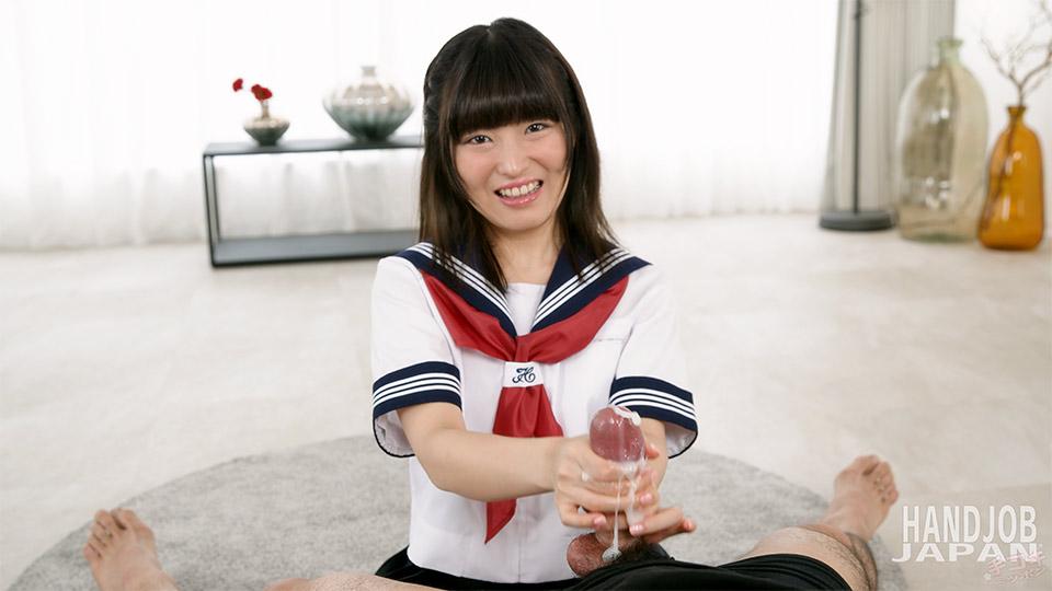 [2021-08-06] Schoolgirl Aika Suzumiya's handjob - Handjob Japan